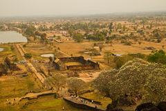 Het vat Phou (Wat Poo) in Jampasak. royalty-vrije stock fotografie