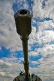 Het vat van de tank die omhoog eruit zien Royalty-vrije Stock Afbeeldingen