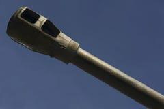Het vat van de tank op de blauwe hemel Stock Afbeelding