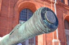 Het vat van het oude kanon stock afbeeldingen