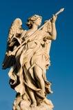 Het vechten Engel Stock Afbeeldingen