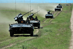 Het vechten van MLI 84 Jder machine in Roemeen Royalty-vrije Stock Foto