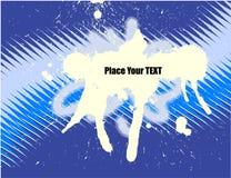 Het vector abstracte ontwerp van Grunge Royalty-vrije Stock Afbeelding