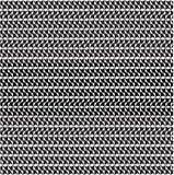 Het vector abstracte patroon als achtergrond maakte van zwart-witte kubusvormen voor kunst grafische ontwerpen Stock Foto's