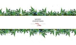 Het vector artistieke naadloze pakketontwerp voor Nieuwjaar en Vrolijke Kerstmis stelt & materiaaldecoratie voor vector illustratie