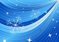 Het vector behang van Kerstmis Stock Foto's