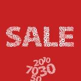 De vector verkoop van de tekenwinkel Royalty-vrije Stock Afbeelding