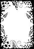 Het vector bloemenframe van de weide Royalty-vrije Stock Afbeelding