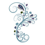 Het vector bloemenontwerp van de herfst royalty-vrije illustratie