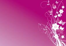 Het vector bloemenornament van de lente. Royalty-vrije Stock Foto