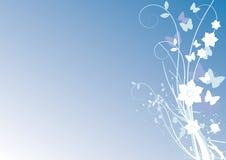Het vector bloemenornament van de zomer. Royalty-vrije Stock Afbeeldingen