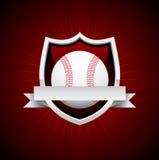 Het vector Embleem van het Honkbal vector illustratie