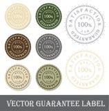 Het vector etiket van de Waarborg Royalty-vrije Stock Afbeeldingen