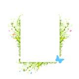 Het vector frame van aardelementen Stock Foto