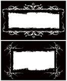 Het vector gotische frames beeld Royalty-vrije Stock Afbeelding
