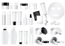 Het vector Kosmetische model van de Container Royalty-vrije Stock Foto