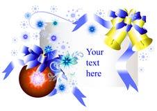 Het vector lege ontwerp van Kerstmis Royalty-vrije Stock Afbeelding