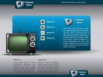 Het vector malplaatje van het websiteontwerp Royalty-vrije Stock Afbeelding