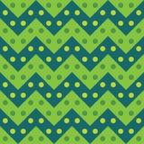 Het vector moderne naadloze kleurrijke de lijnenpatroon van de meetkundechevron, kleurt groene samenvatting Royalty-vrije Stock Foto
