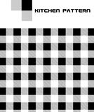 Het vector Naadloze Patroon van de Keuken royalty-vrije illustratie
