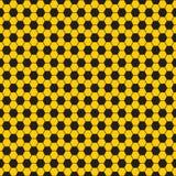Het vector naadloze patroon van de voetbalbal, textuur Stock Afbeelding