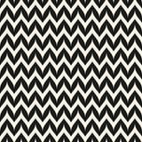 Het vector Naadloze Patroon van de Zigzagchevron Gebogen Golvende Zig Zag -Lijn Royalty-vrije Stock Afbeeldingen