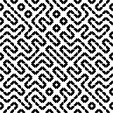 Het vector Naadloze Patroon van Meetkundetruchet vector illustratie
