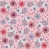 Het vector naadloze patroon van Paisley en naadloze patte Royalty-vrije Stock Fotografie