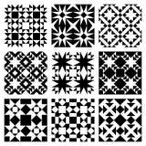Het vector Patroon van de Tegel Stock Fotografie