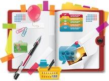 Het vector persoonlijke pictogram van organisatoreigenschappen XXL Royalty-vrije Stock Afbeeldingen