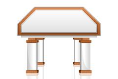 Het vector Pictogram van de Bouw van de Bank Stock Illustratie