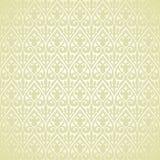 Het vector uitstekende Arabische retro patroon van het bloemmotief Stock Foto
