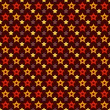 Het vector van de de stervorm van de vakantietriomf naadloze patroon Stock Fotografie