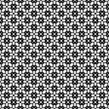 Het vector zwarte wit herhaalt ontwerpen Royalty-vrije Stock Afbeeldingen