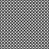 Het vector zwarte wit herhaalt ontwerpen Stock Foto