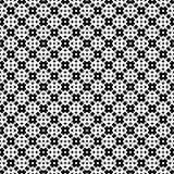 Het vector zwarte wit herhaalt ontwerpen Royalty-vrije Stock Foto's
