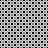 Het vector zwarte wit herhaalt ontwerpen Royalty-vrije Stock Afbeelding