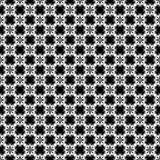 Het vector zwarte wit herhaalt ontwerpen Royalty-vrije Stock Foto