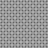 Het vector zwarte wit herhaalt ontwerpen Royalty-vrije Stock Fotografie