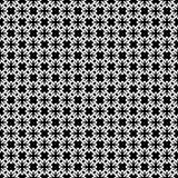 Het vector zwarte wit herhaalt ontwerpen Stock Foto's