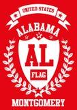 Het vectorart. van Alabama Stock Foto