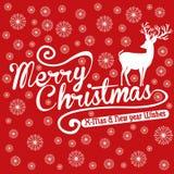 Het vectorart. van het Kerstmisleven Stock Foto