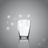 Het vectorbeeld van een glas Royalty-vrije Stock Foto's