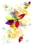 Het vectorelement van de kleur Royalty-vrije Stock Foto