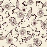Het vectorelement van het bloem naadloze patroon Elegante textuur voor achtergronden Klassiek luxe ouderwets bloemenornament stock illustratie