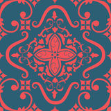 Het vectorelement van het damast naadloze patroon. Royalty-vrije Stock Foto's