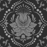 Het vectorelement van het damast naadloze patroon. Royalty-vrije Stock Foto