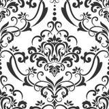 Het vectorelement van het damast naadloze patroon Royalty-vrije Stock Fotografie