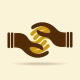 Het vectorelement van het het pictogramontwerp van het overeenkomstenweb Stock Fotografie
