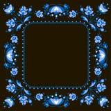 Het vectorkader van de drukvoorraad royalty-vrije stock afbeelding
